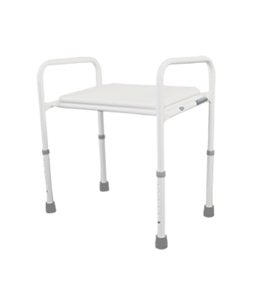 Picture of Shower Stool, w/Pop-In Seat -  Wide