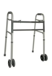 Picture of Bariatric Cross Brace Frame, Folding - Wheels / Skis