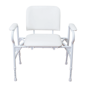 Picture of Shower Chair - Bariatric adjustable height with arms
