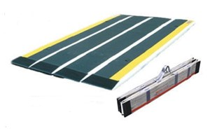 Picture of Ramp - Portable Personal Ramp, 70cm in Length, Folding with No Edge Barrier